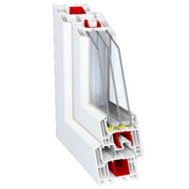 Пластиковые окна Deceuninck Eforte 84 мм