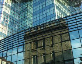 Фасадное остекление зданий