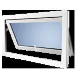 Окно с откидной створкой