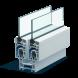 Миниатюра - Пластиковый оконный профиль ПВХ