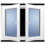 Окно с поворотной створкой