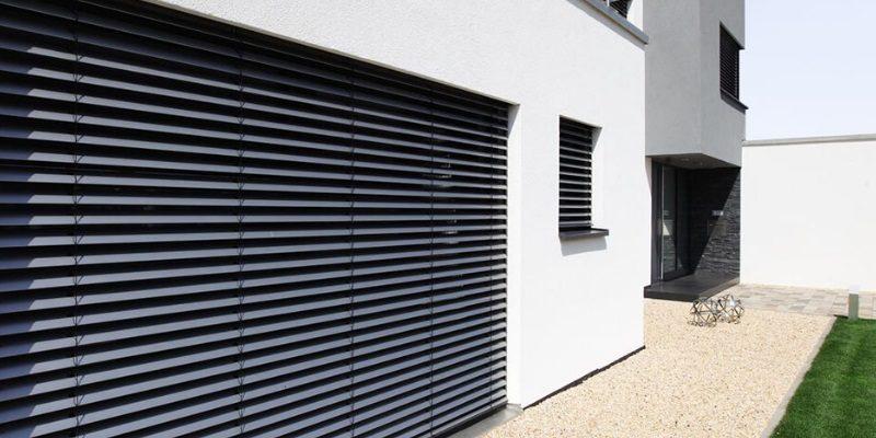 Raffstore — рафшторы для солнцезащиты снаружи