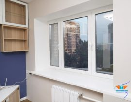 Ремонт двухкомнатной квартиры на ул. Гарибальди
